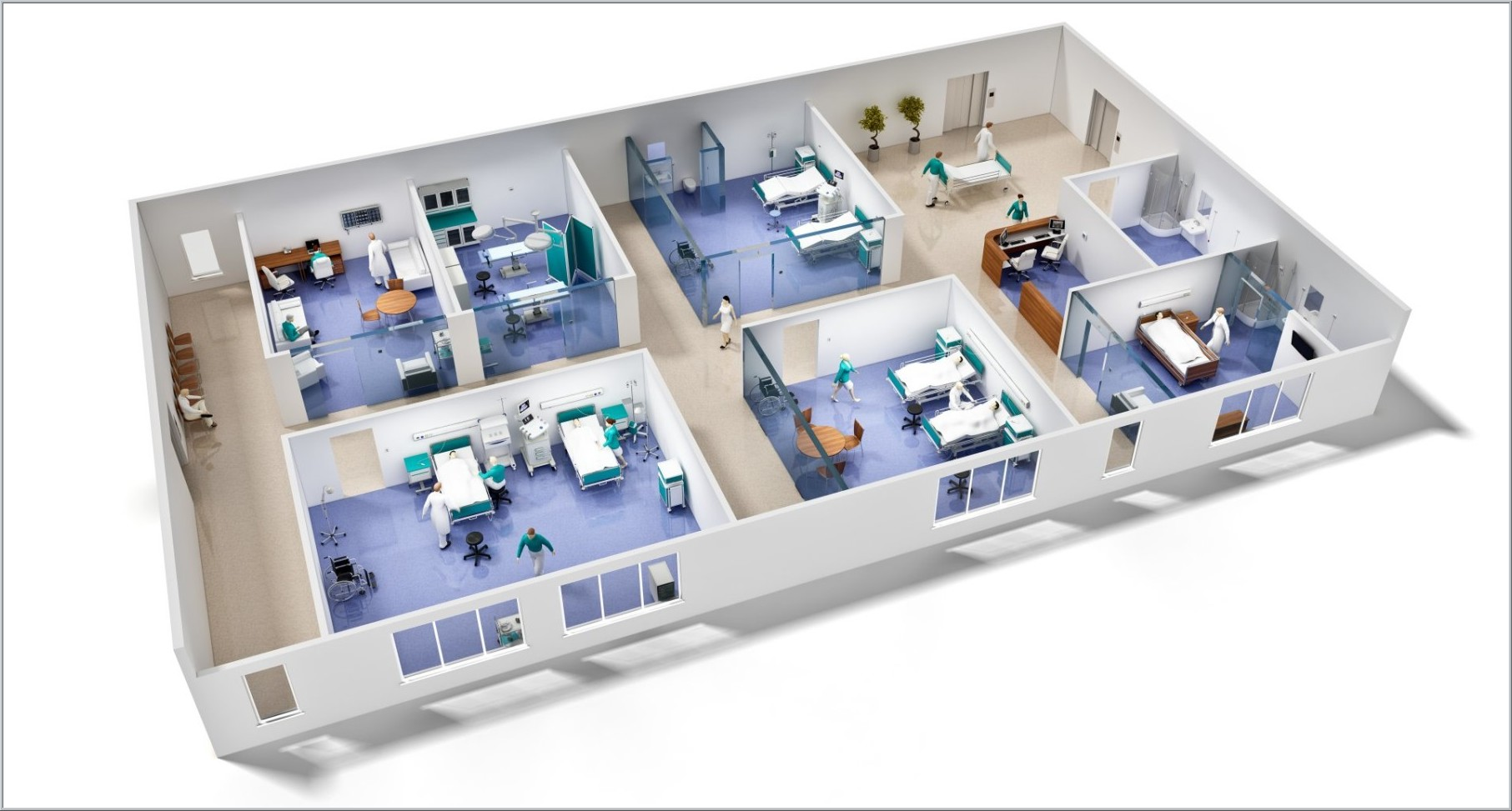 3D Hospital Visualization