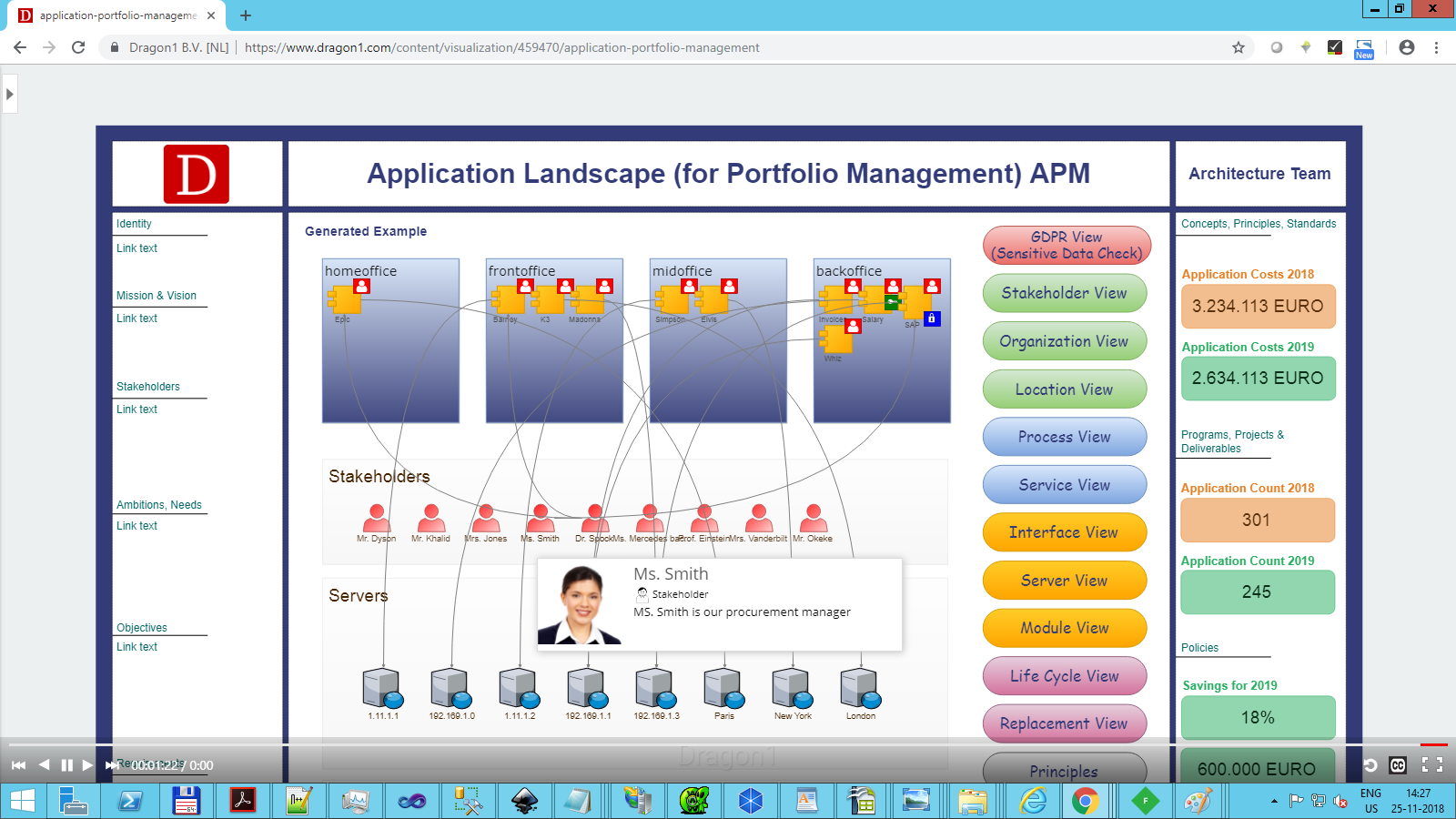 Application Portfolio Management Use Case - Dragon1