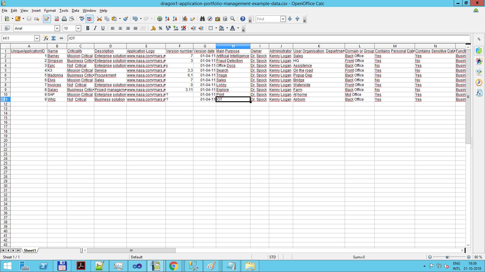 portfolio management example