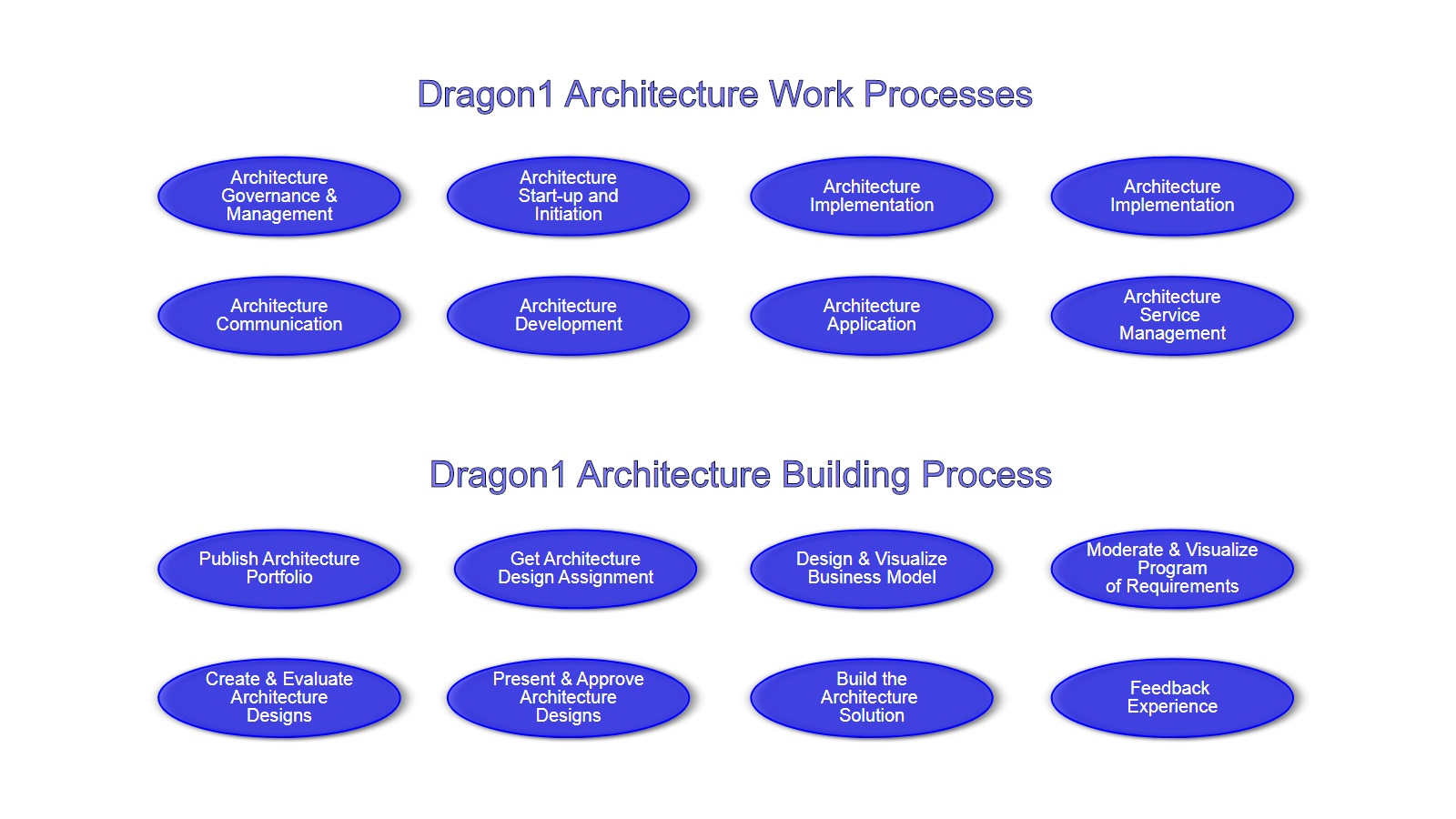 Dragon1 Architecture Processes