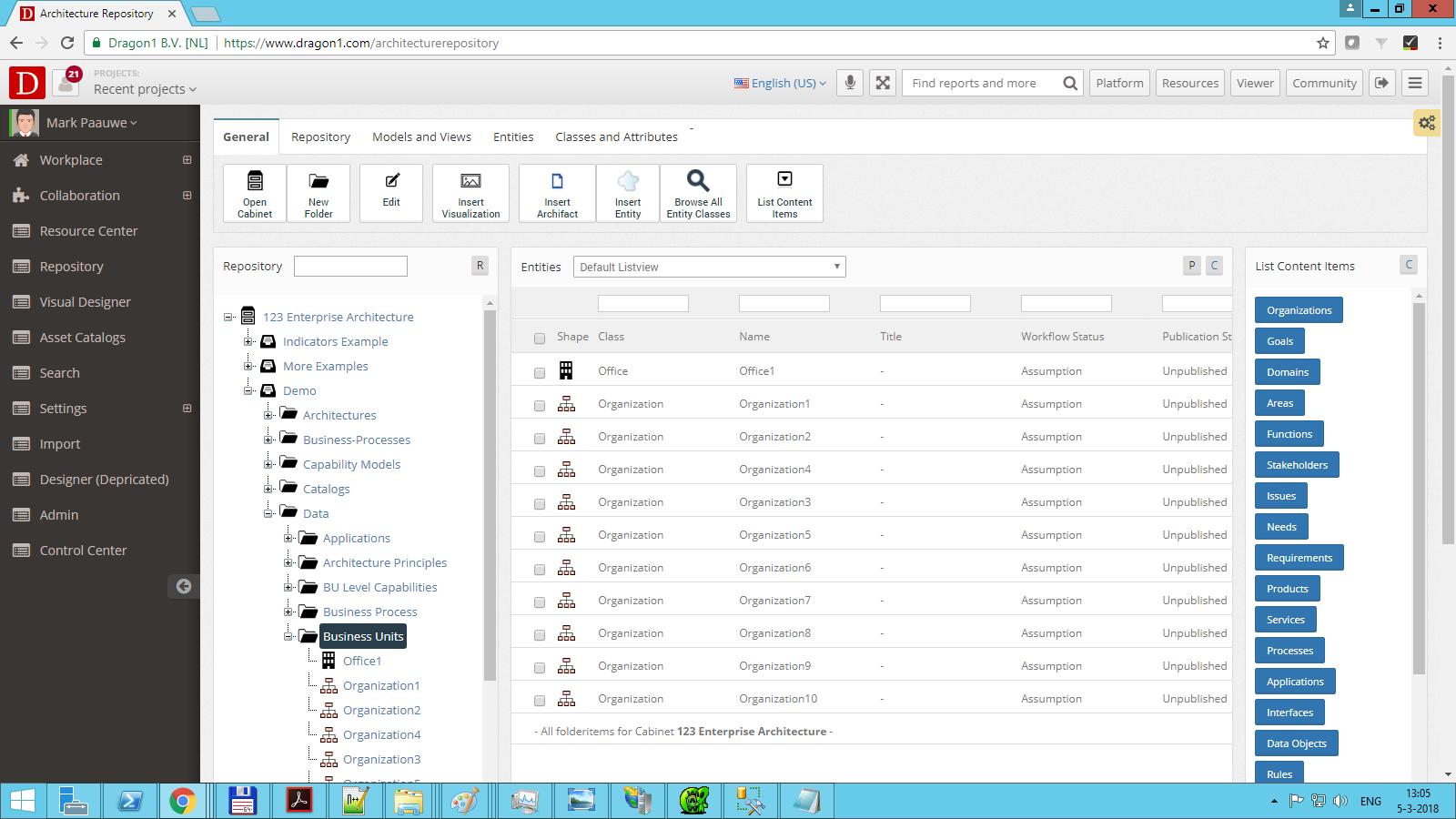 dragon1 create folder select folder