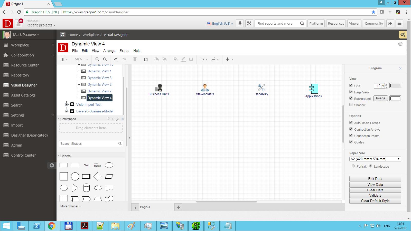 dragon1 select visualization in folder