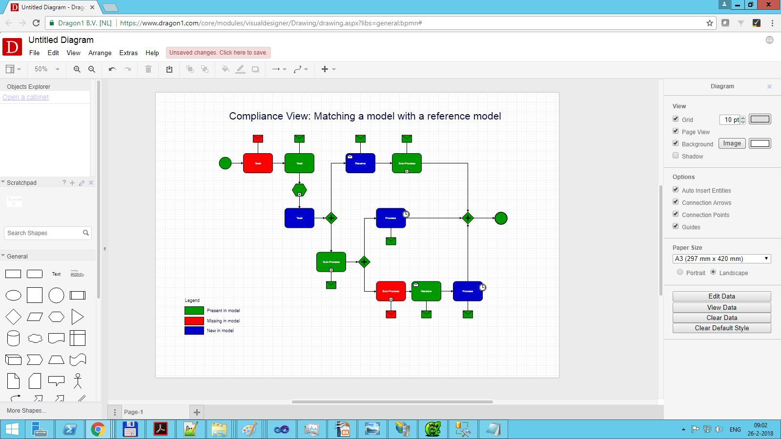 dragon1 compliance data view