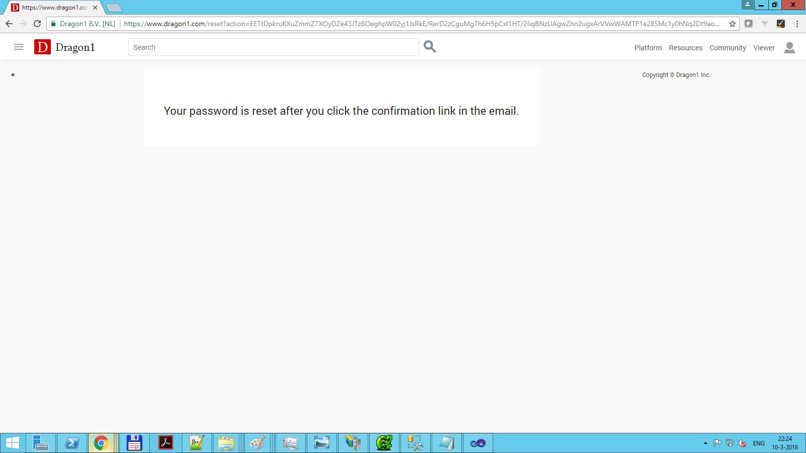 dragon1 new password