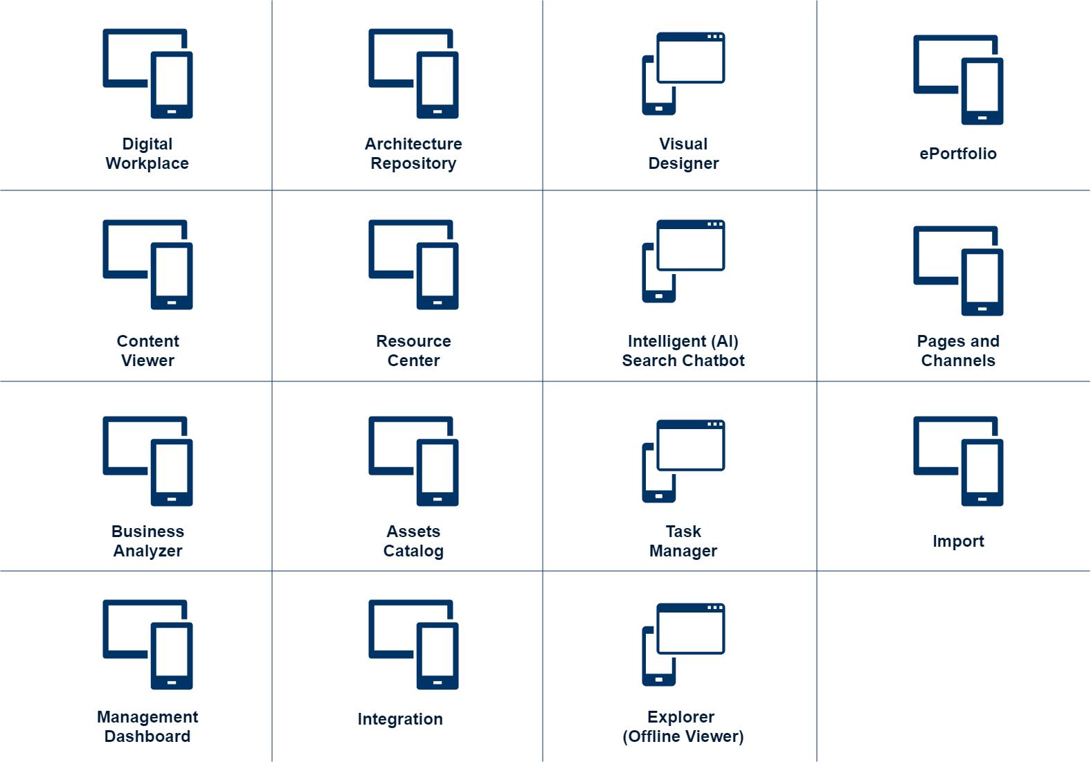 dragon1 web applications suite