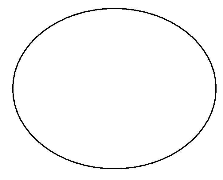 oval as concept