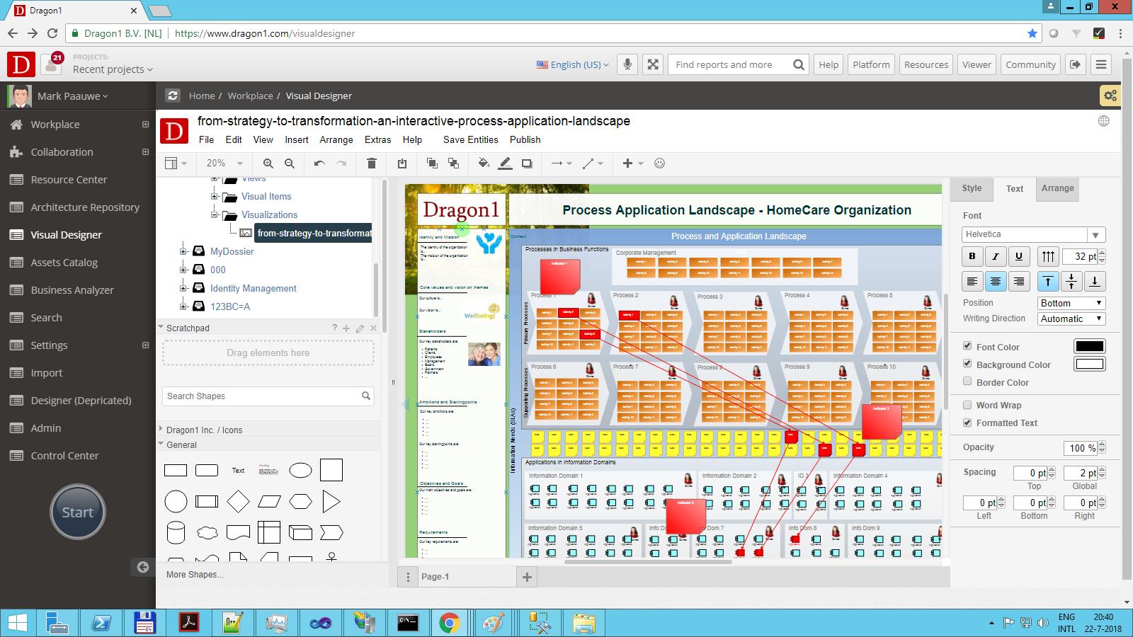 Process application landscape diagram dragon1 interactive diagram example pooptronica Gallery
