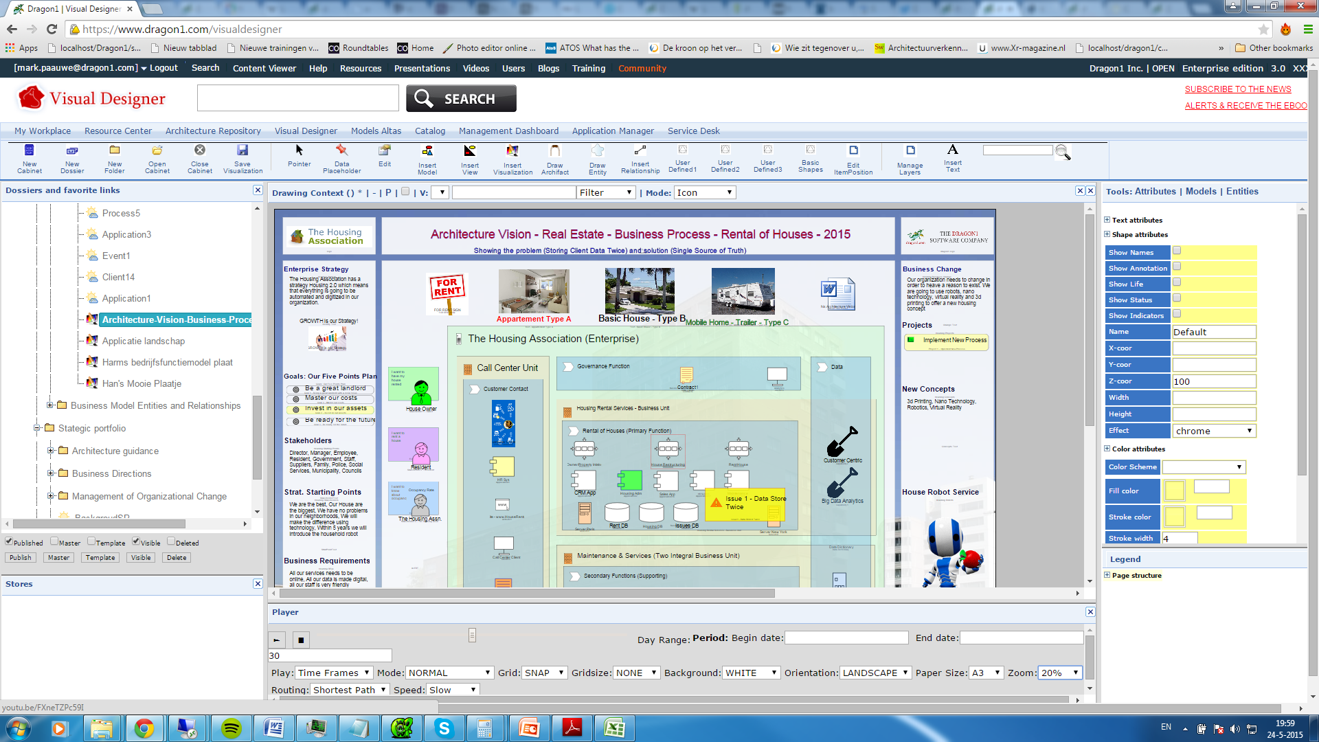 Enterprise Architecture Tool - Dragon1