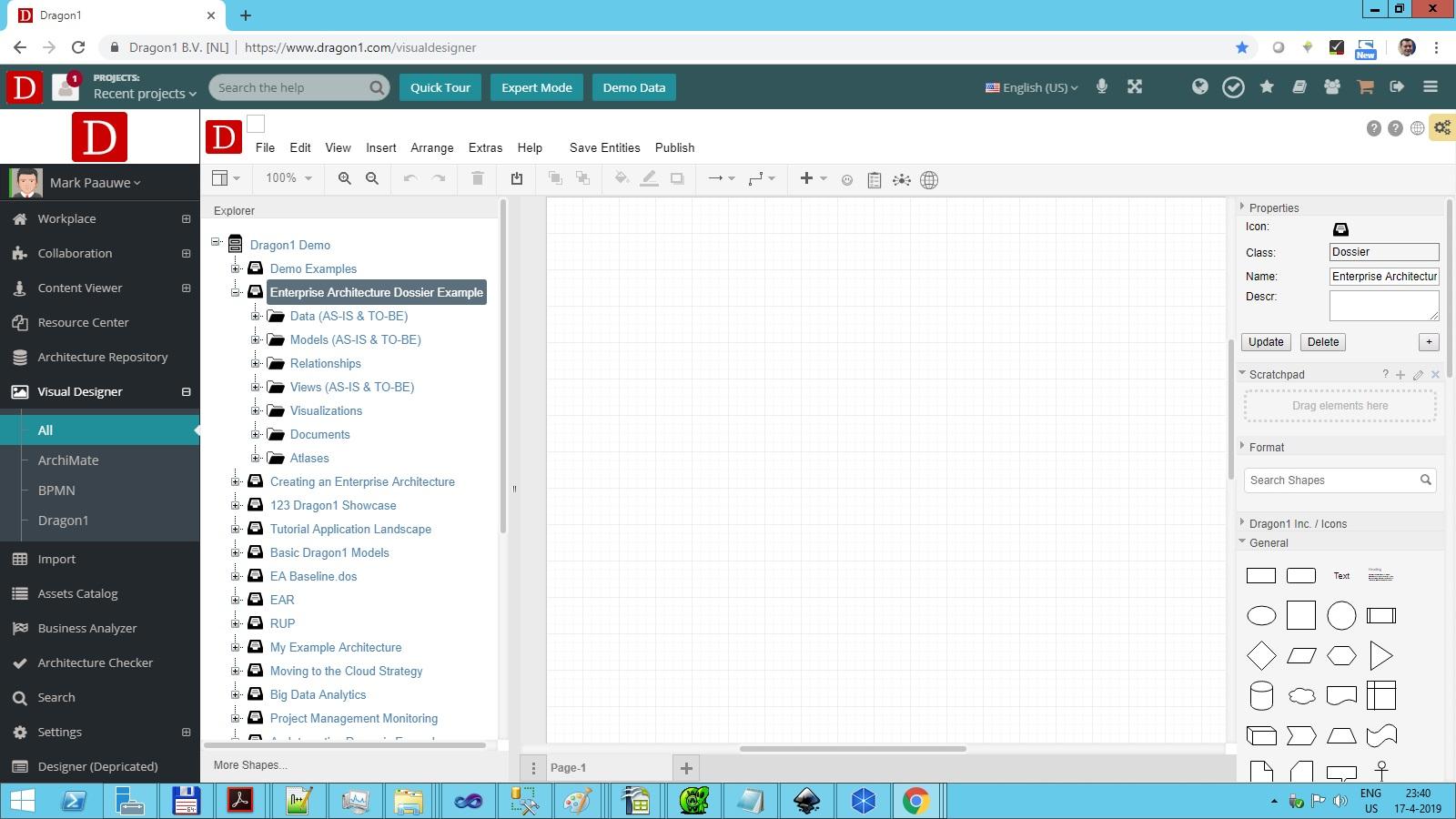 dragon1 folder visual designer