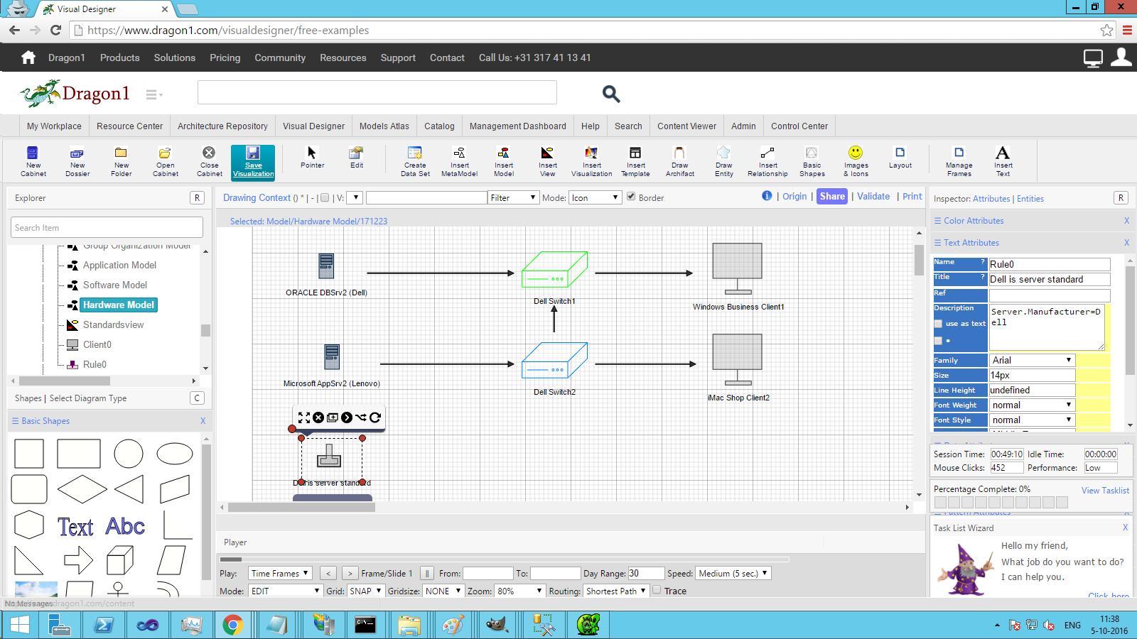 dragon1 standardization view