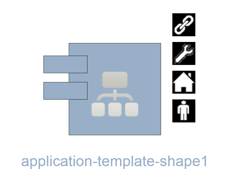 Dragon1 Application Template Shape