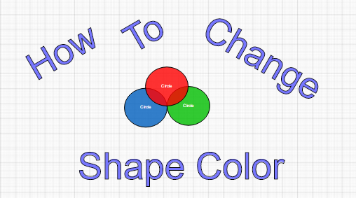 How To Change The Colors Of A Shape