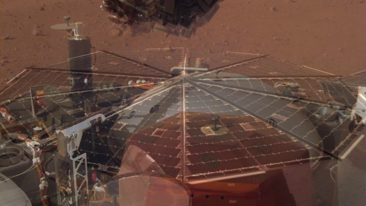 Sounds of Mars NASAs InSight Senses Martian Wind
