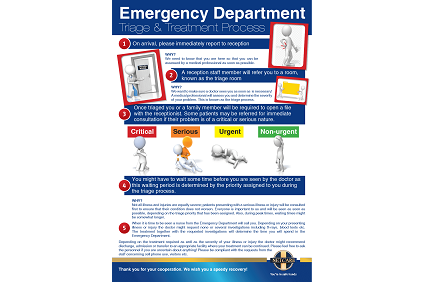 Triage and Treatment Process - Emergency Department
