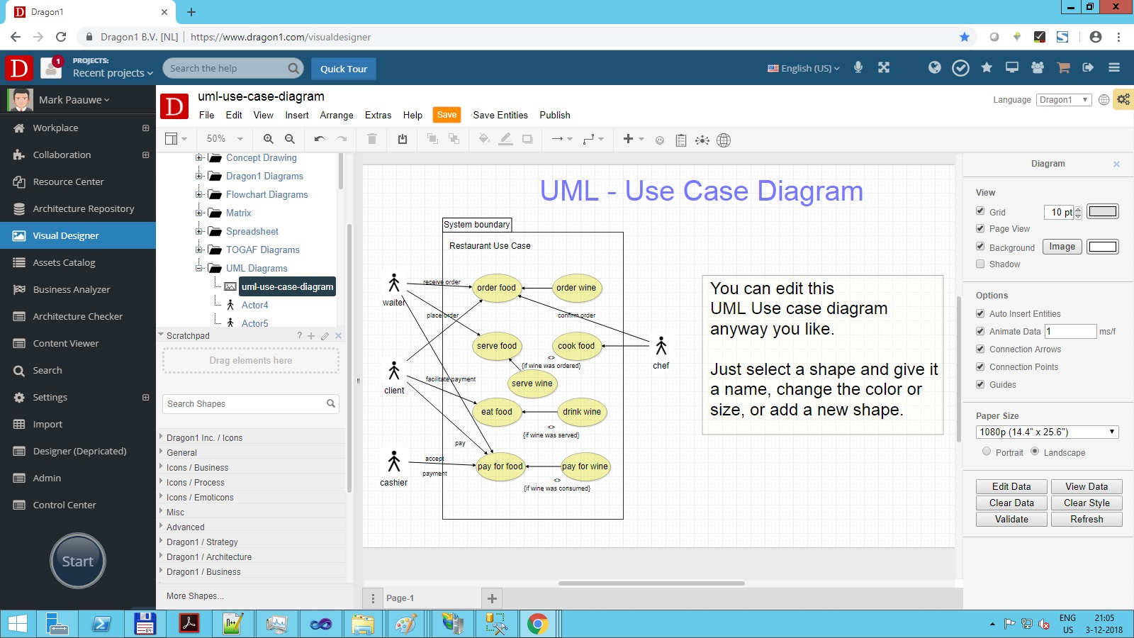 UML Diagramming