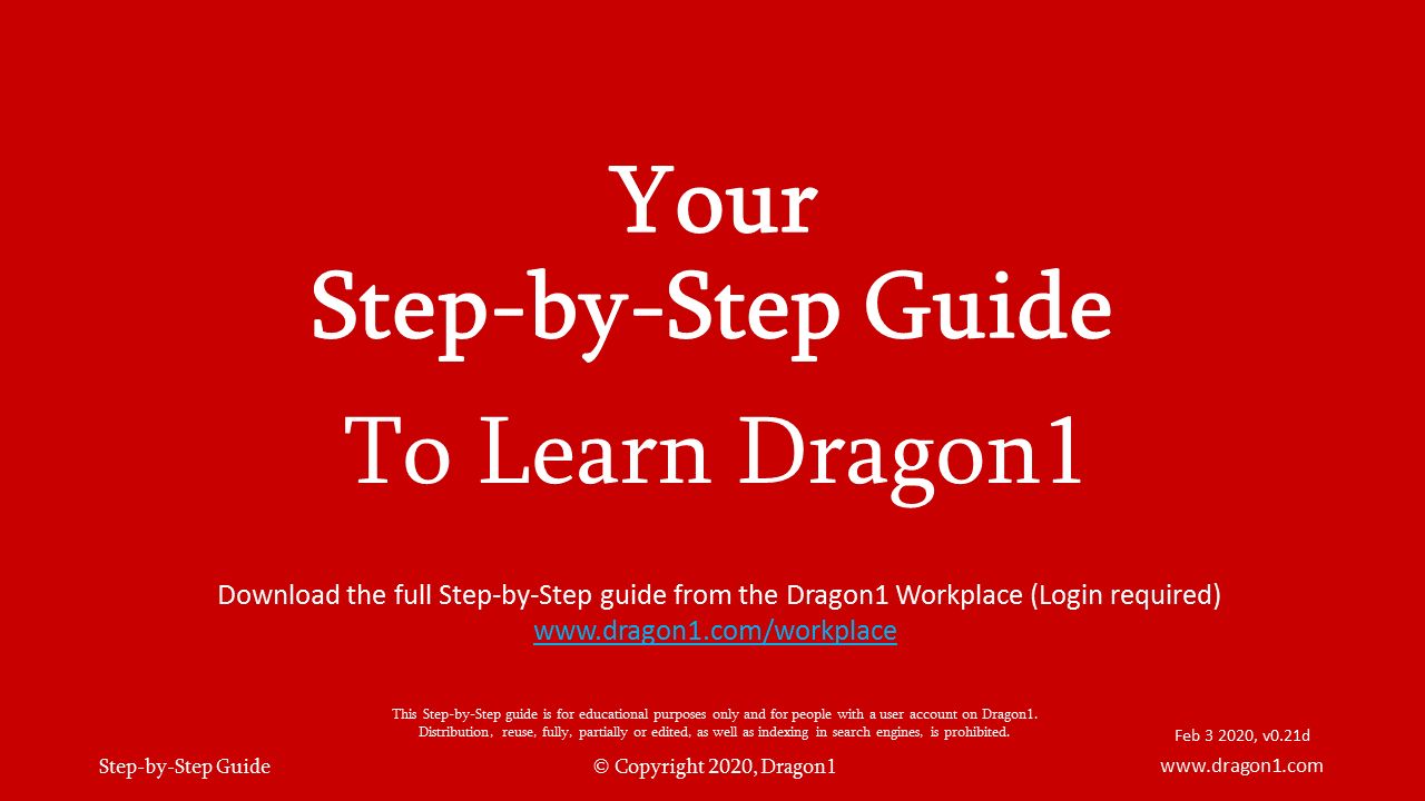 learn step by step